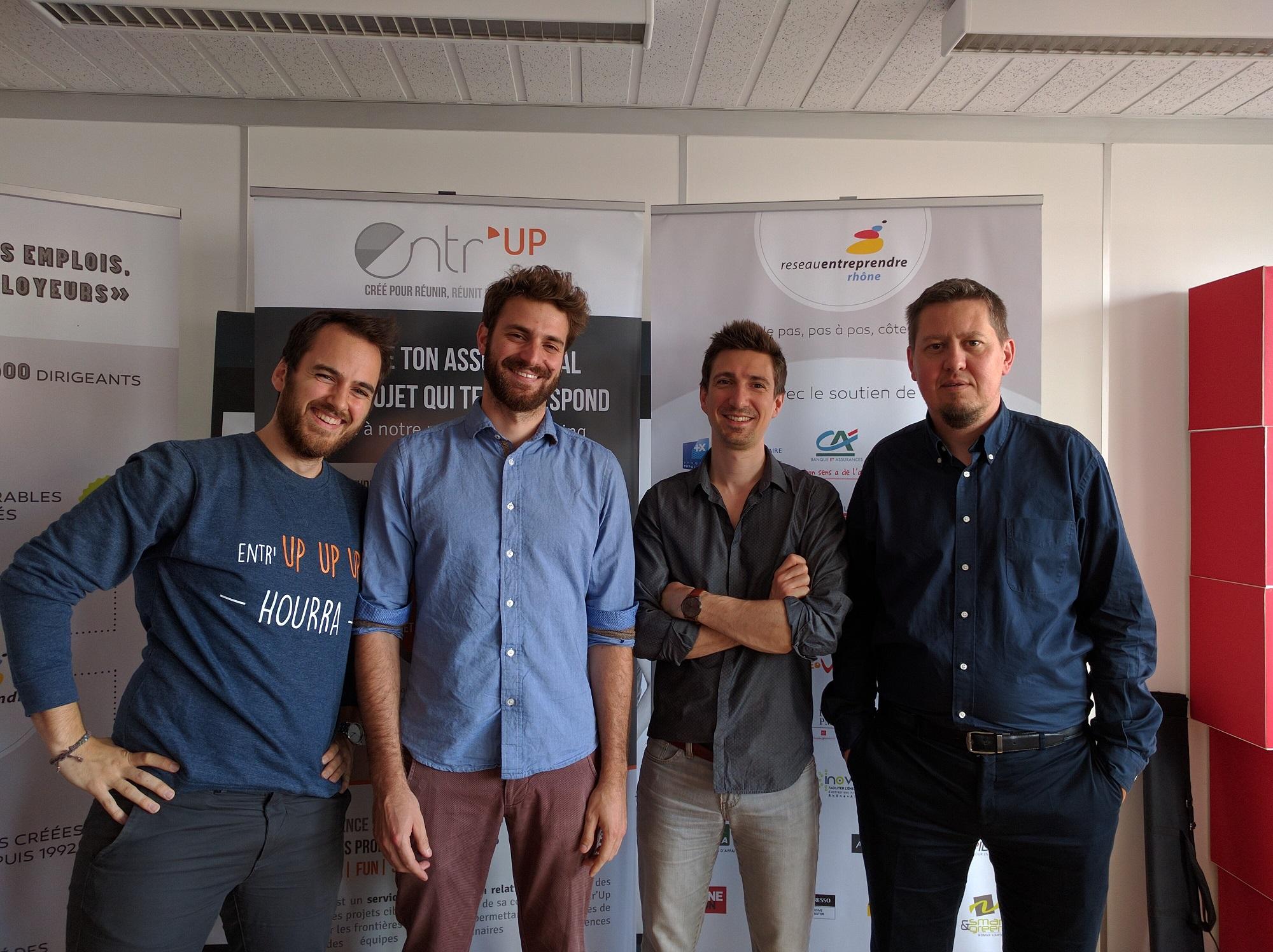 Entr'UP est partenaire du Réseau Entreprendre Rhône !